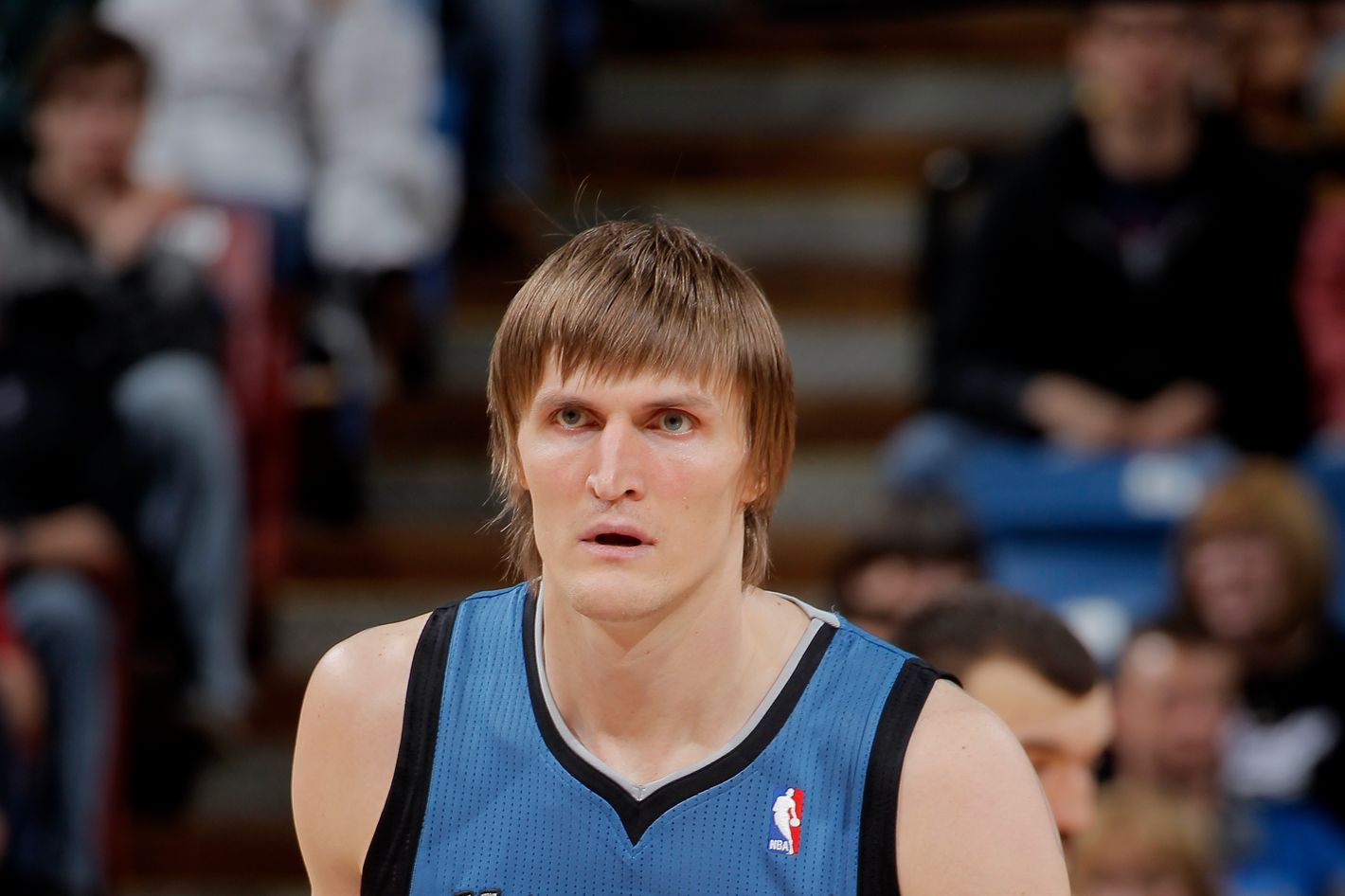 Andrei Kirilenko #47 of the Minnesota Timberwolves in a game against the Sacramento Kings on March 21, 2013 at Sleep Train Arena in Sacramento, California.
