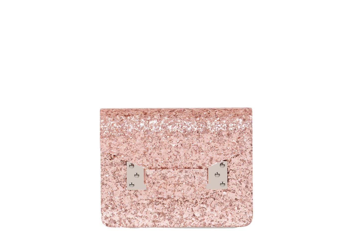 Pink Glitter Compton Evening Envelope