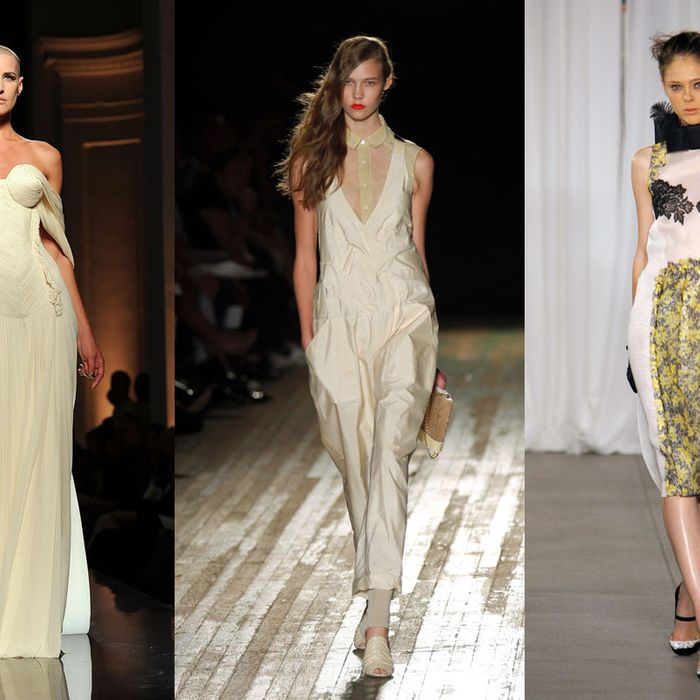 Eve Savail, 16-year-old Karlie Kloss, and 18-year-old Coco Rocha.