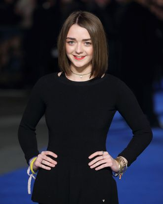 Maisie Williams.