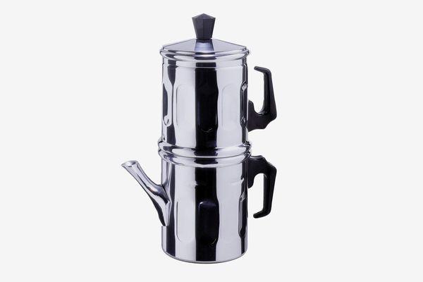 Ilsa Neapolitan 6-Cup Aluminum Coffee Maker