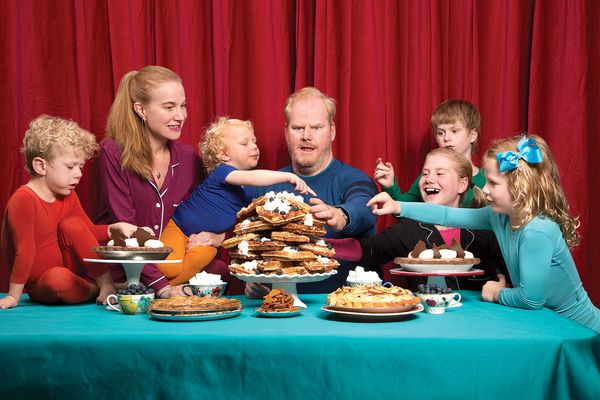 Dominique Ansel Threw an Epic Pie-and-Waffle Fest for Cronut Superfan Jim Gaffigan (and His 5 Kids)