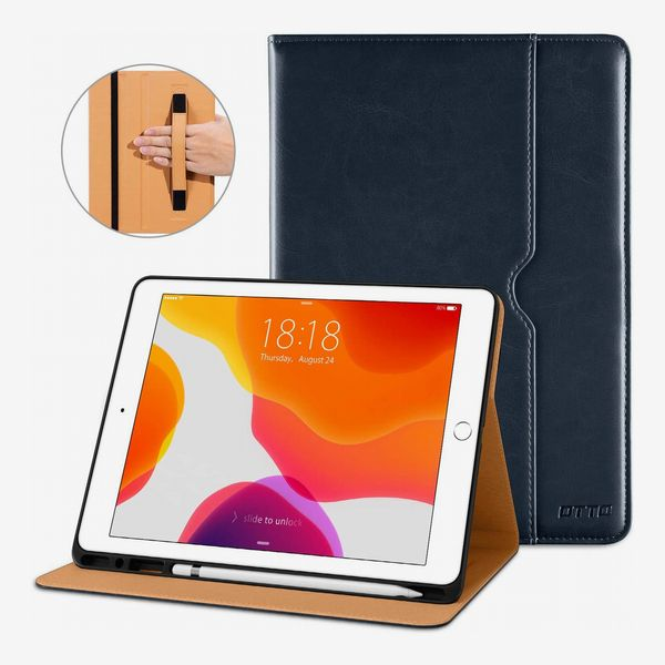DTTO iPad Leather Business Folio Stand Case