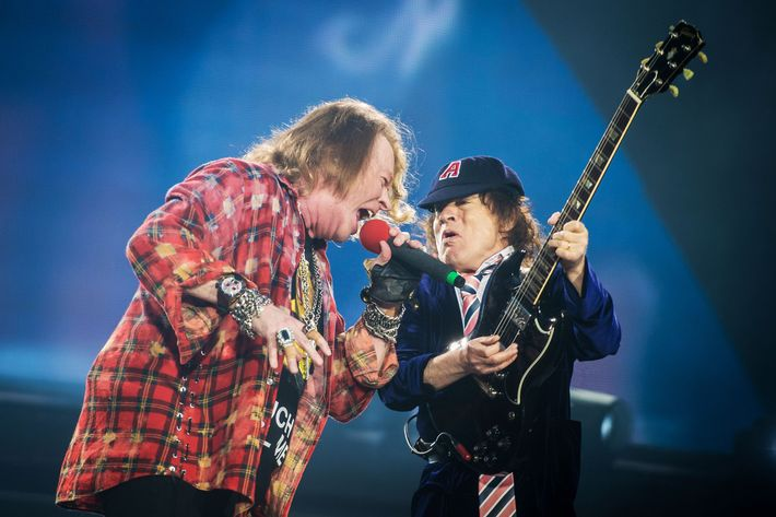 AC/DC Perform At Olympic Park In London