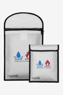 Fullive Waterproof & Fireproof Document Bag