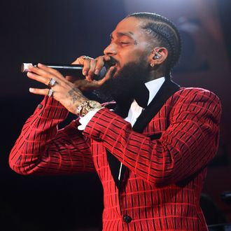 3535cc807fe1 Nipsey Hussle Mourned By Drake