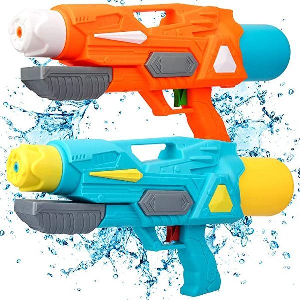 2 Pack Super Soaker Water Squirt Gun