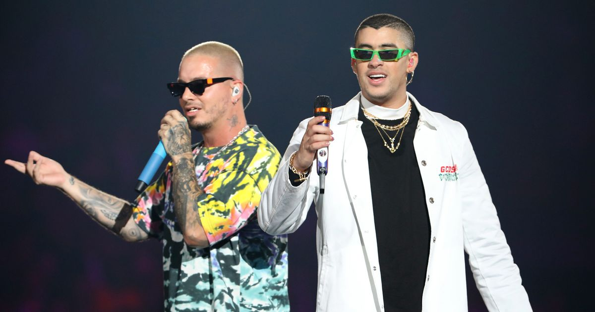 Bad Bunny and J Balvin Form a New Superhero Duo on Oasis