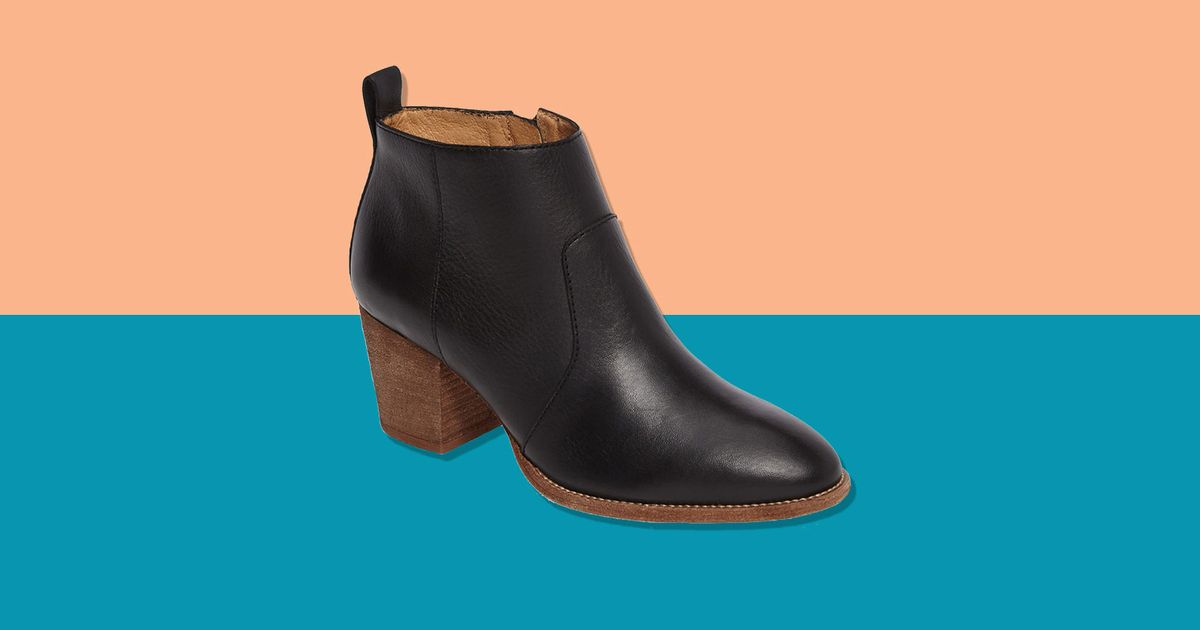 Madewell Brenner Ankle Boot on Sale at