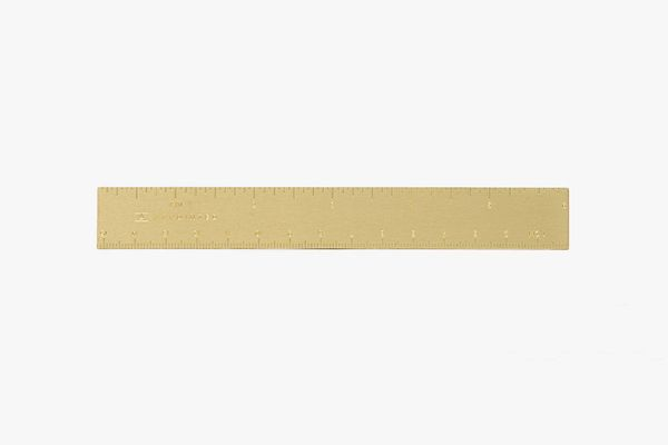 Appointed Brass Ruler