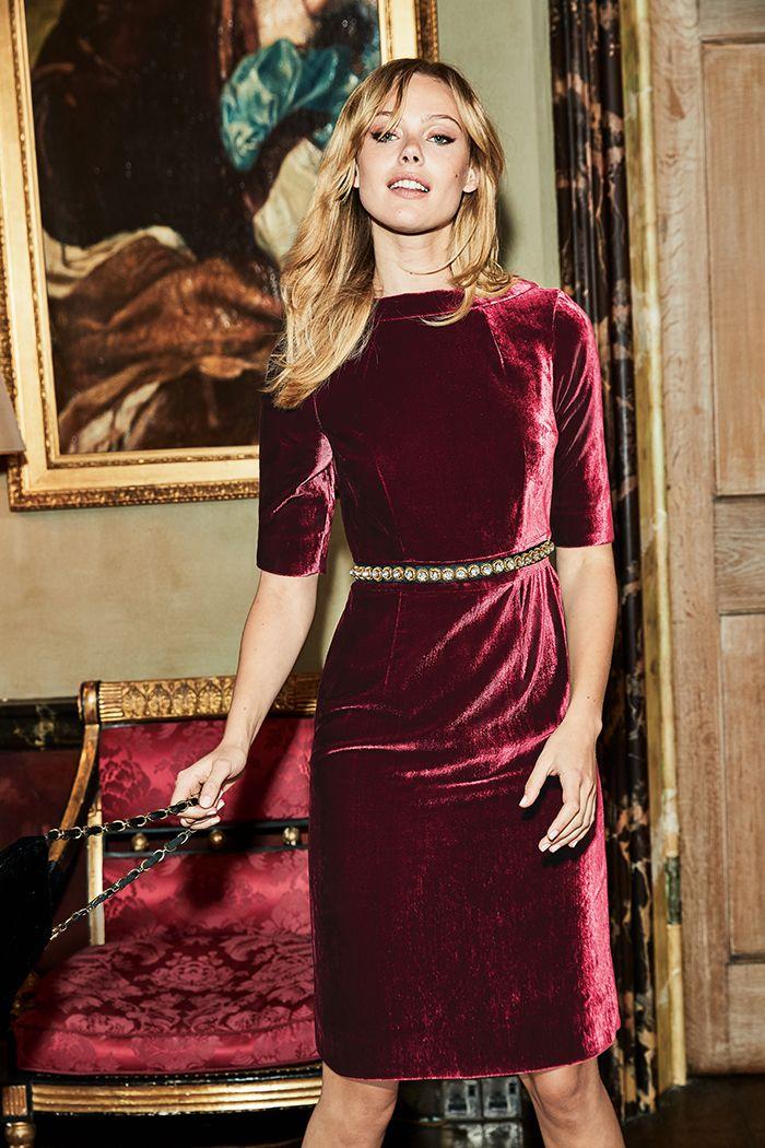 Velvet Martha Dress
