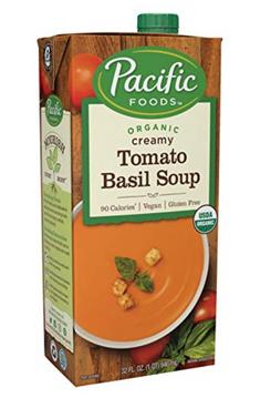 Pacific Foods Vegan Tomato Basil Organic Soup