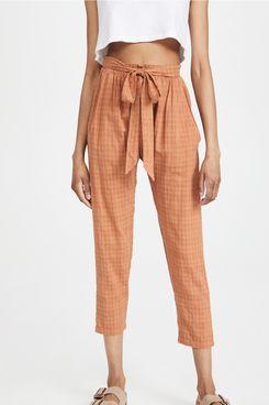 Eberjey Strata Solid Hudson Pants