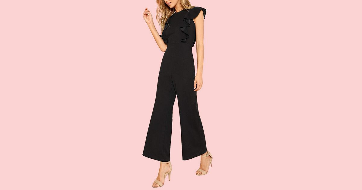 93db5cbec2 Romwe Jumpsuit With Ruffles Review 2019