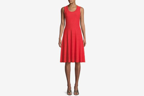 Nic + Zoe Scoop-Neck Sleeveless Twirl Dress, Plus Size