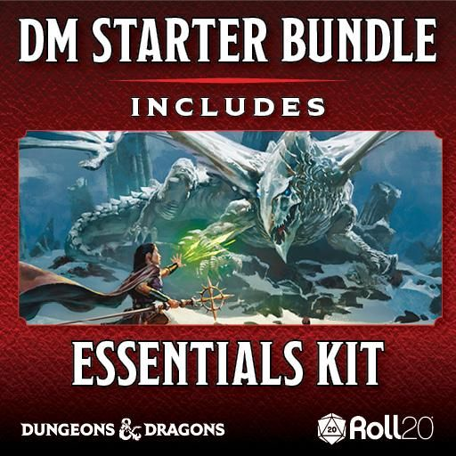 Dungeons & Dragons Dungeon Master Starter Bundle