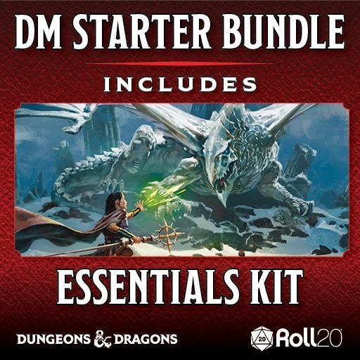 Dungeons & Dragons Dungeon Master Starter Bundle