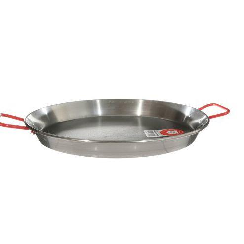 Garcima 15-Inch Carbon Steel Paella Pan