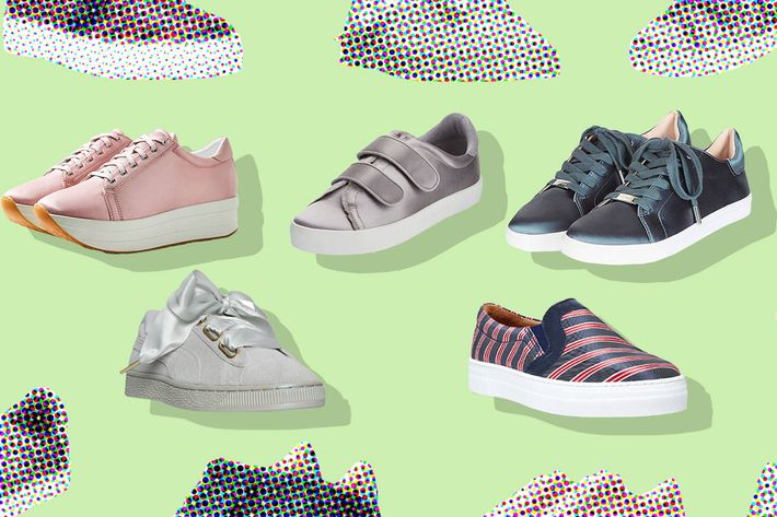 Satin Sneakers For Every Occasion