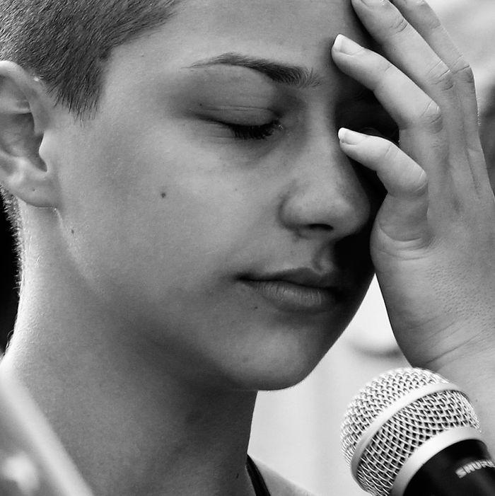 Marjory Stoneman Douglas High School student Emma Gonzalez.