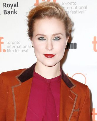 Evan Rachel Wood, a woman who knows her Gucci.