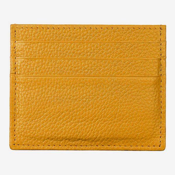 Hibate Leather Slim Credit Card Case
