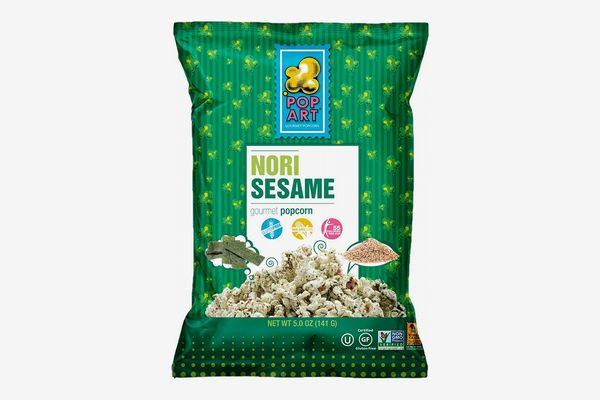 Pop Art Nori Sesame Popcorn, 4.5oz