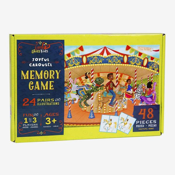 Little Likes Kids Joyful Carousel Memory Card Game