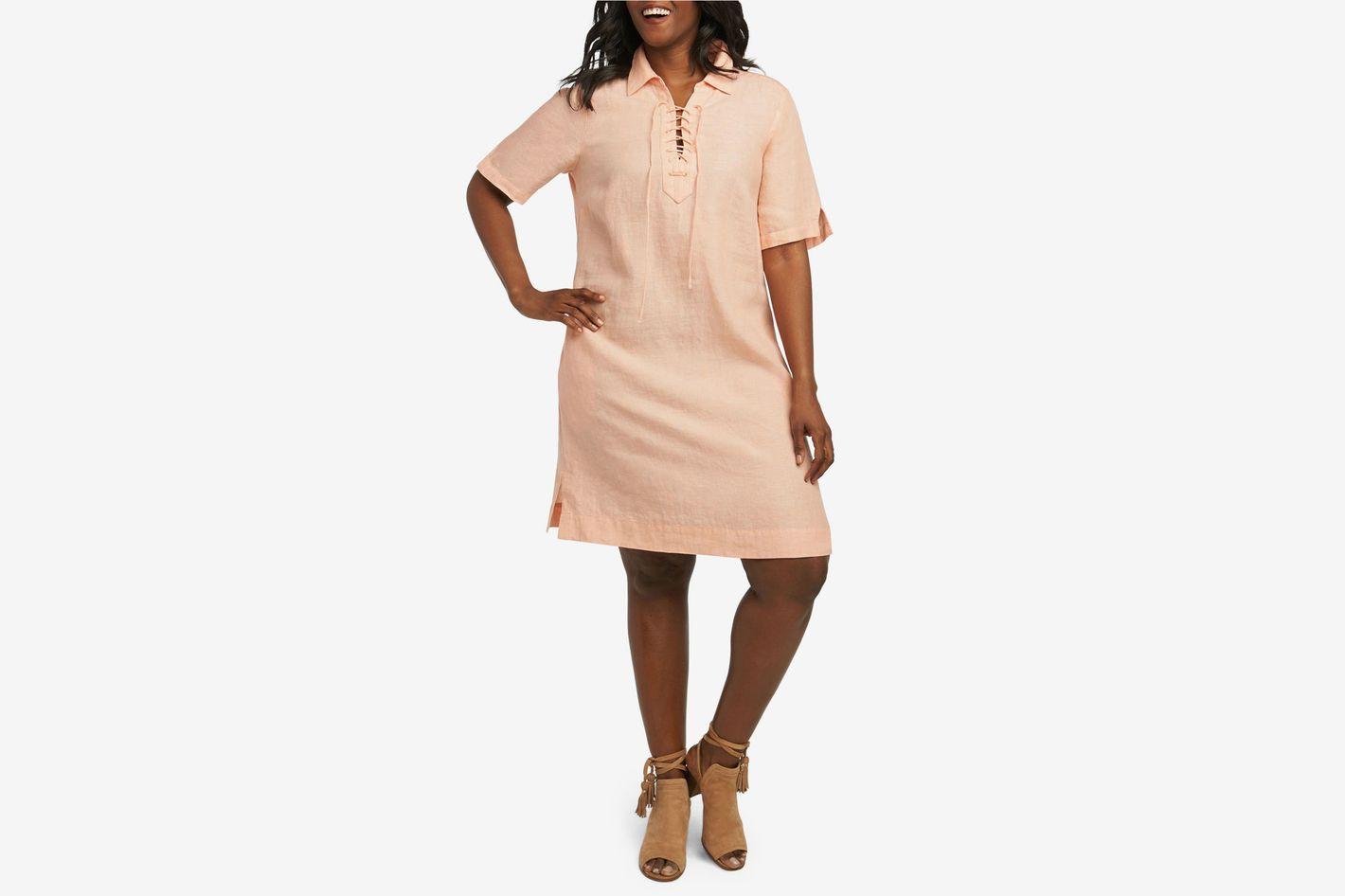 712925b032 13 Best Linen Dresses for Summer 2018