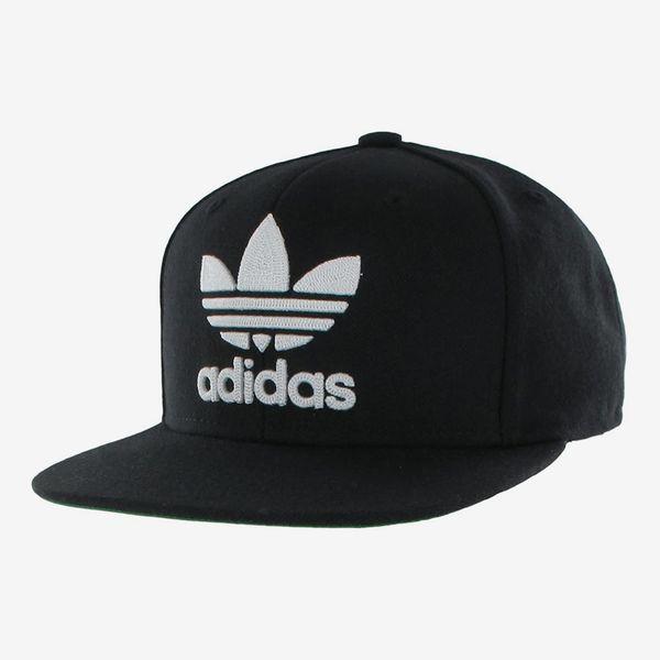Adidas Men's Originals Snapback Flat-Brim Cap