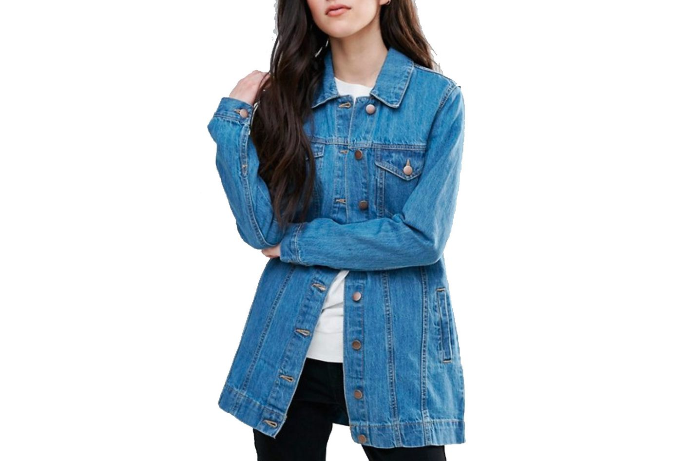 Brave Soul Acer Boyfriend Denim Jacket