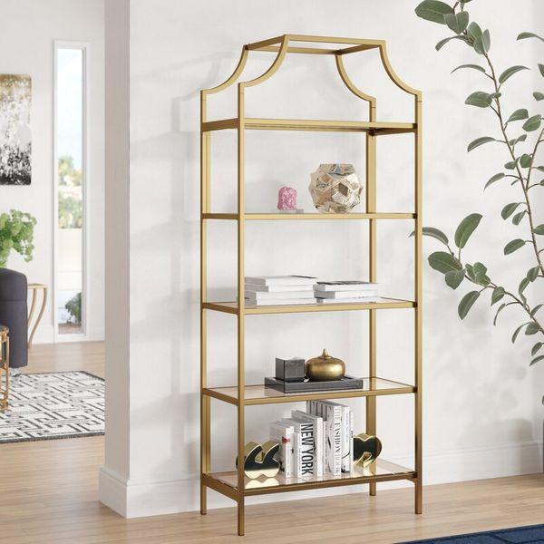 Mistana Damon Etagere Bookcase