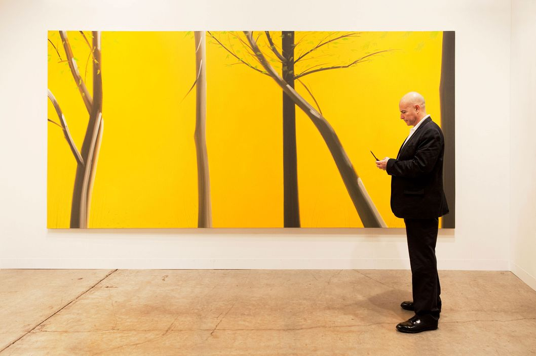 Peter Blum, Art Basel Miami Beach 2010  Artist: Alex Katz