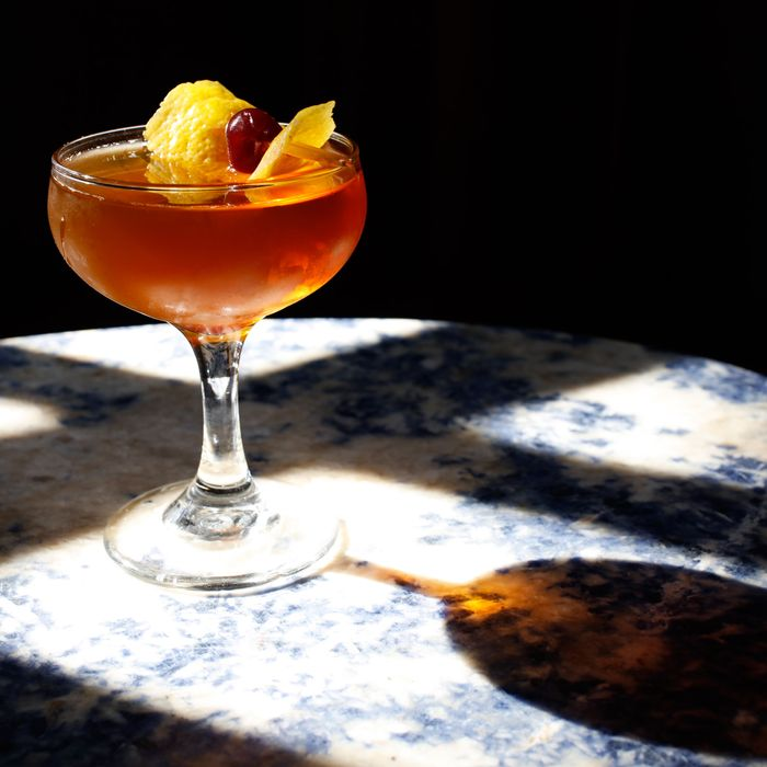A Manhattan variation at August Laura called the Coop.
