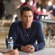 THE GRINDER: Rob Lowe in the
