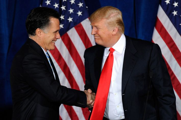 Mitt Romney Meeting With Trump to Discuss Cabinet Position