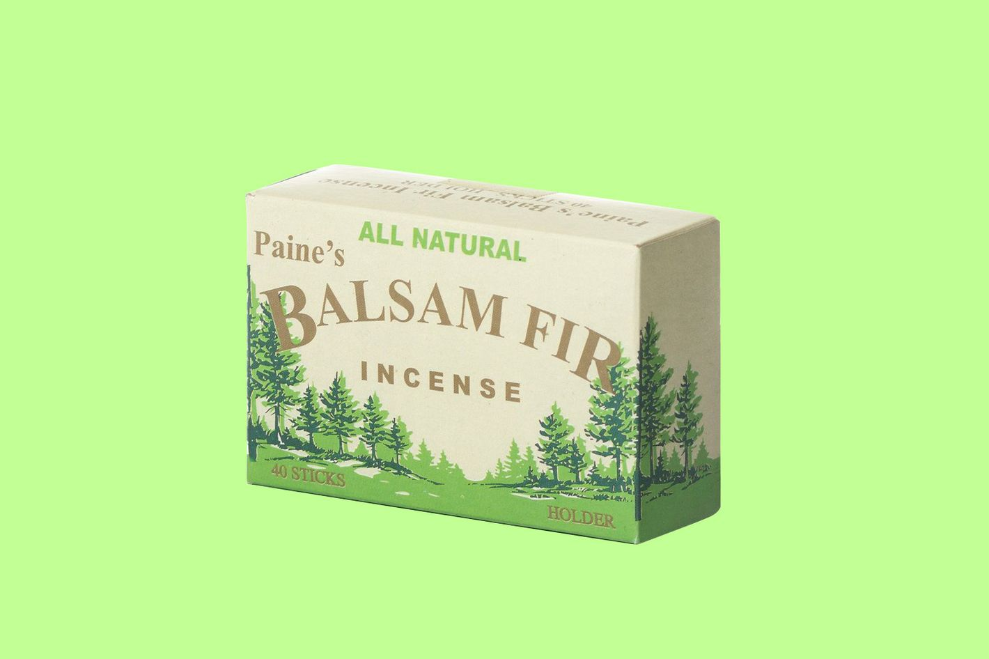 Paine's Fir Balsam Incense