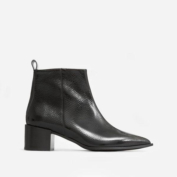 Everlane The Boss Boot, Black Patent