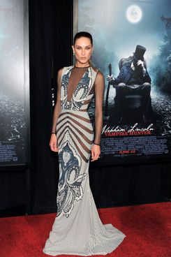 "Erin Wasson attends the ""Abraham Lincoln: Vampire Slayer 3D"" New York Premiere at AMC Loews Lincoln Square 13 theater on June 18, 2012 in New York City."