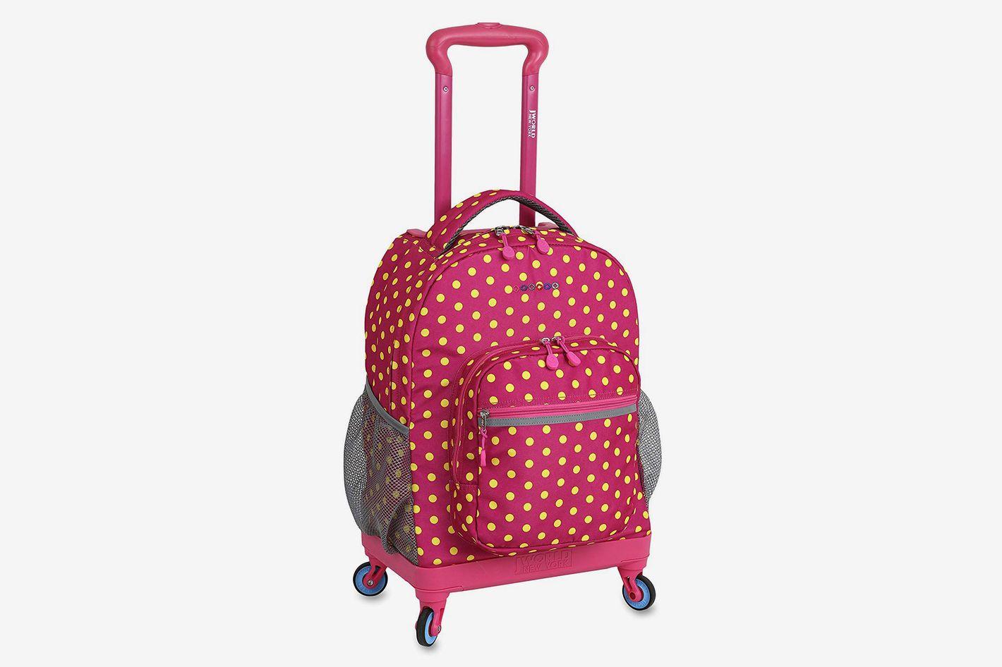 J World New York Kids' Sunslider Spinner Fashion Backpack