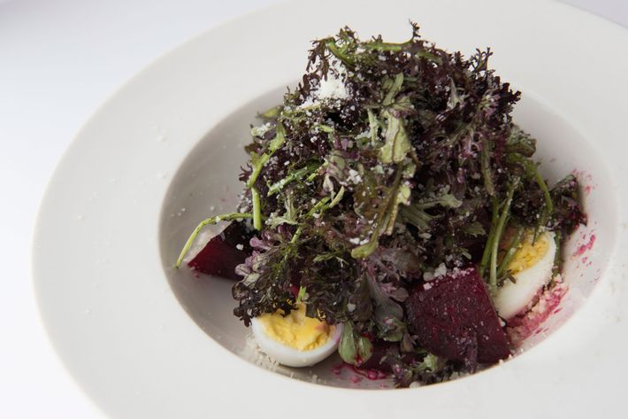 Roasted-beet salad.