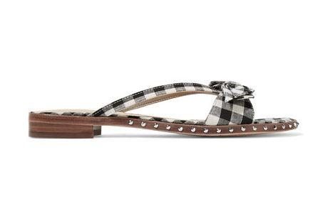 Sam Edelman Studded Gingham Sandals