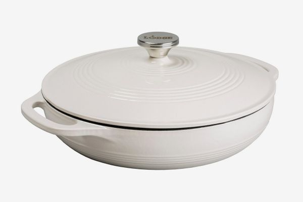 Lodge 3.6-Quart Oyster White Casserole