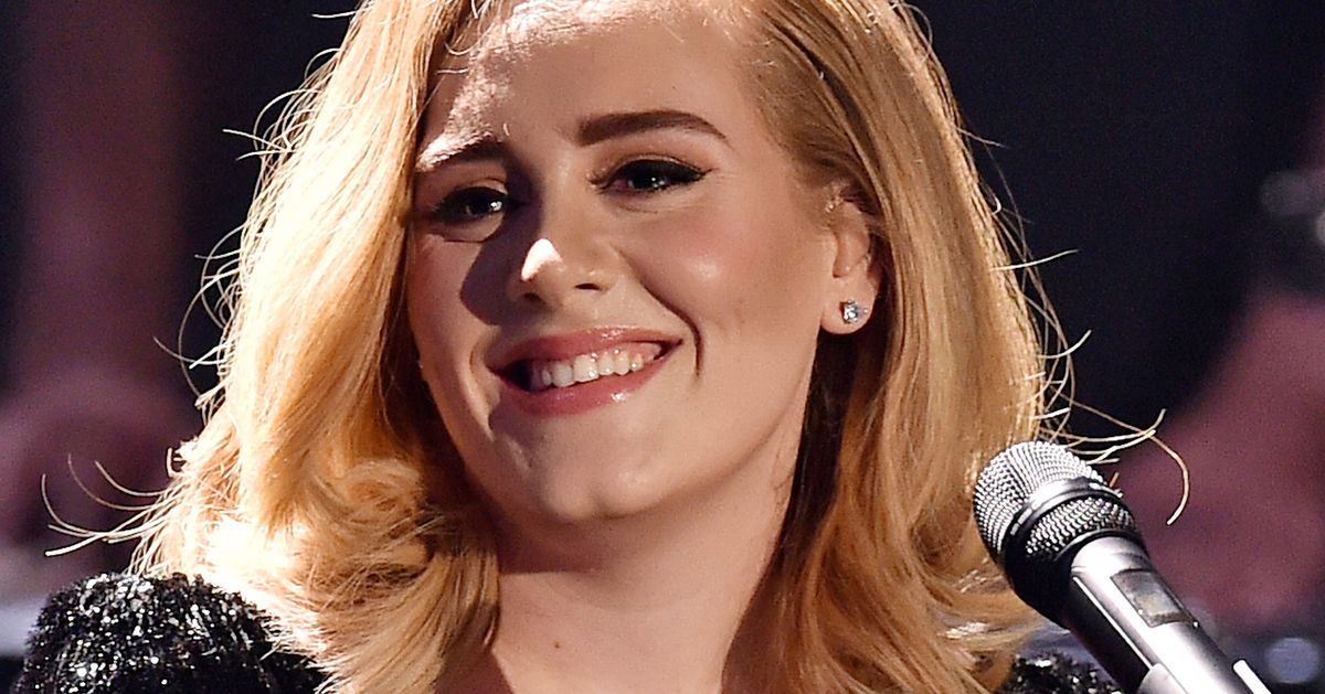 When Adele Was Young, She Was Just Cute Little Toothless