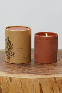 P.F. Candle Co. Juniper 8oz Terra Candle