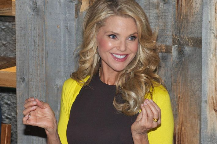 A Morning With Christie Brinkley Wig Evangelist