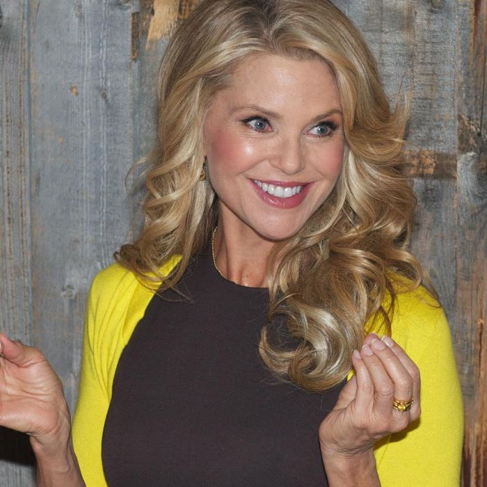 Christie Brinkley.