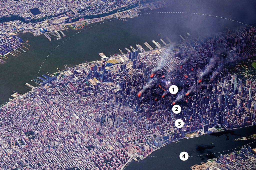This Is What a Nuclear Attack in New York City Would Look Like