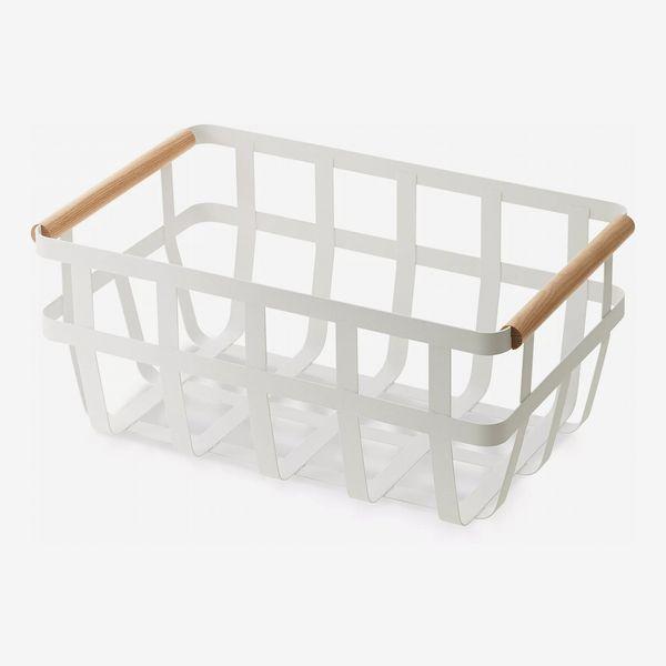 Yamazaki Tosca Dual-Handle Storage Basket