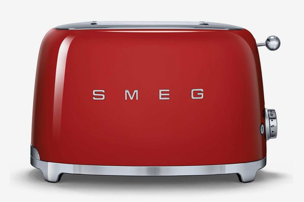 SMEG 50's Retro Style 2-Slice Toaster in Red